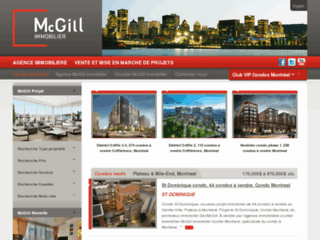 Détails : McGill real estate