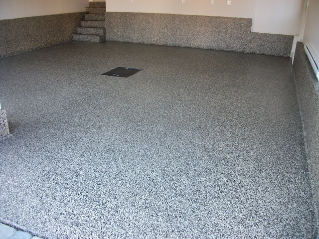 Zone garage expert en plancher de garage for Peinture beton garage